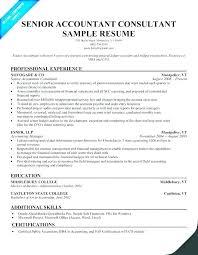 Leasing Consultant Resume Sample A Senior Accountant Samples