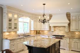 Outstanding 9 Country French Kitchen Designs Cabinets With An Antique White  Crackle