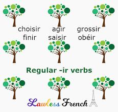 French Regular Ir Verbs Agir Choisir Finir Lawless French