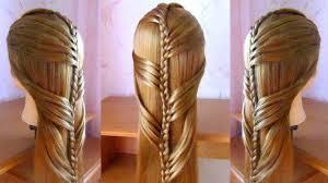 Tuto Coiffure Facile Cheveux Longs Tresse Simple Et Rapide