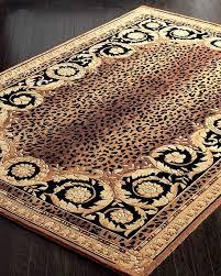 animal print rugs at roman leopard rug 4 round prints design