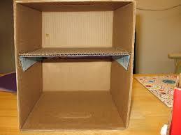 cardboard drawers diy
