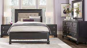 Bedroom Black Queen Bedroom Sets Brilliant Intended For Black Queen