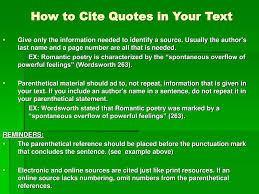 How To Use Parenthetical Citation In An Essay English Paper Help