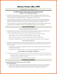 Hr Generalist Resume Objective Examples Hr Generalist Resume Objective Krida 14