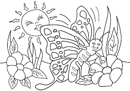 Coloring Pages Spring Break Nauhoituscom All About 10k Top