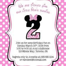 free minnie mouse invitation template minnie mouse invitations free 2nd birthday invitation template