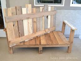 funky wood furniture. How I Built The Pallet Wood Sofa (part 2) Via Funky Junk Interiors Furniture H