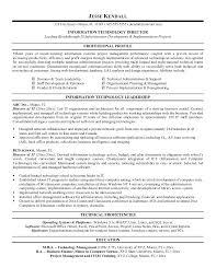 information technology resume examples 2012 cool download best tech  templates director project management leadership tec