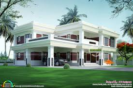 Complete Flat Roof Luxury Home Kerala Home Design Bloglovin Cheap Flat Roof  Home