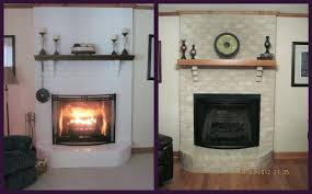 painting over brick how to paint brick fireplace painting brick fireplace wall painting brick fireplace black