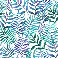 eucaliptus leaves wallpaper mural blue and green pattern on white background