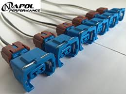 amazon com nissan 300zx 90 94 tt 90 92 na fuel injector connector nissan 300zx 90 94 tt 90 92 na fuel injector connector pigtail harness maxima