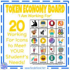 Token Reward System Chart Token Boards Themed Visual Behavior Modification Token Reward System