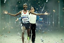 Mo Farah Running Away From Things via Relatably.com