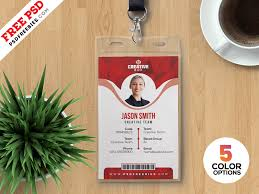Id Card Templates Free Office Id Card Templates Psd By Psd Freebies On Dribbble