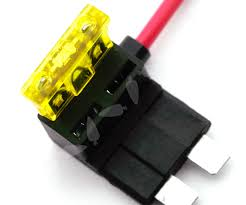 4 x add a circuit piggy back fuse tap standard blade fuse holder ato 12v 24v 4 x circuit fuse tap piggy back standard blade ato atc fuse holder box 12v