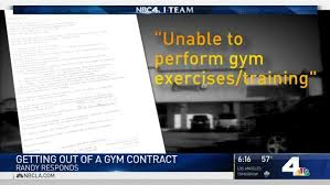 Doctors Note For Gym Can A Doctors Note Get You Out Of A Gym Contract Nbc Southern