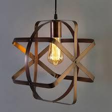 industrial globe pendant light vintage metal spherical lantern chandelier ceiling light fixture antique copper finish e27 filament edison retro country