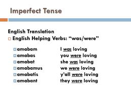 Latin Verb Conjugation Chart Translation Ppt Conjugating Latin Verbs Imperfect And Future Tenses
