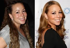 mariah carey without makeup before and after