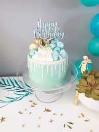 Happy Birthday Cake Topper Justine Ma