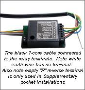 wiring a towbar relay wiring diagram how to fit a multiplex bypass relay wiring a towbar relay