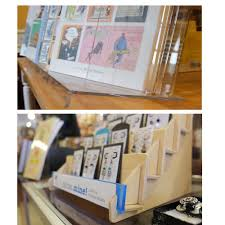 Wooden Greeting Card Display Stand Greeting Card Holders Rack and Displays from Clear Solutions 5