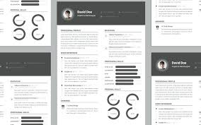 Cv Resume Design – Sapphirepartners