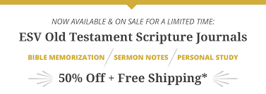 Personal Journals For Sale Esv Old Testament Scripture Journals Westminster Bookstore