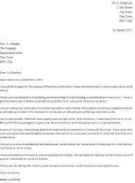 data entry clerk cover letter example   icover org ukname surname  data entry clerk cover letter