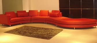 long sectional sofa bright red colored sofas with chaise large size elegant high end design and