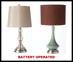 incredible cordless table lamps foter in battery operated decorative table lamps dfwago com