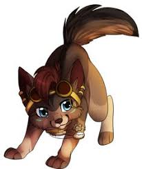 cute baby wolf anime.  Anime She Is An Abandoned Wolf Pup That The Dog Team Adopted Has Great  Agility Flips And Spins She Can Make Ground Shake Move Objects  In Cute Baby Wolf Anime