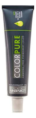 <b>Безаммиачная краска для волос</b> Color Pure 50мл Lorvenn ...