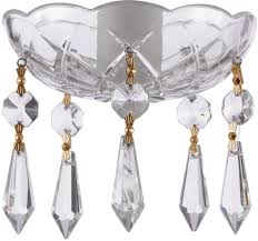 asfour crystal 30 lead bobeche lamp chandelier parts set of