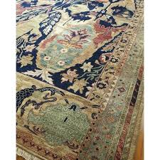 taupe and blue area rug bright