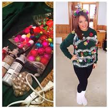 26 DIY Ugly Christmas Sweaters That Prove Youu0027re AwesomeUgly Christmas Sweater Craft Ideas