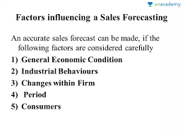 What Is A Sales Forecast Lesson 5 Sales Forecasting In Hindi Hindi Marketing