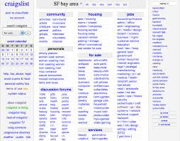 simplicity of craigslist a reminder that content is king