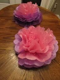 Tissue Paper Flower Centerpieces 5 Step Pom Pom Centerpiece From Tissue Paper Tutorial Pom