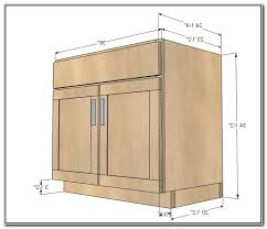 kitchen sink base cabinet sizes chic inspiration 1 height standard height