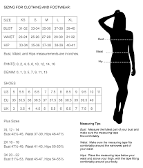 Vintage Clothing Size Chart Out Of My Kloset Boutique Womens Contemporary And Vintage