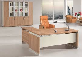wooden office. Modern Boss Computer Table Wooden Executive Office Desk