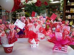 valentine candy bouquet balloon gourmet