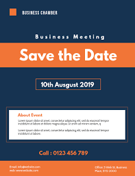 Business Meeting Flyer Template Postermywall