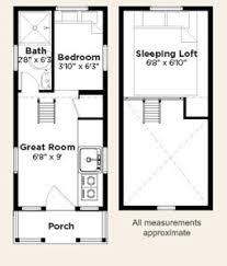 Elm Tiny Home Floor Plan