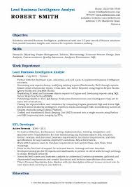 Documentation Analyst Sample Resume