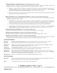 Product Support Manager Resume Resume Template Directory