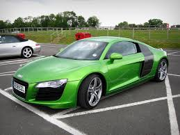 Greener Than A Green Thing! Java Audi R8   R8. Alex  The Quizy Cars